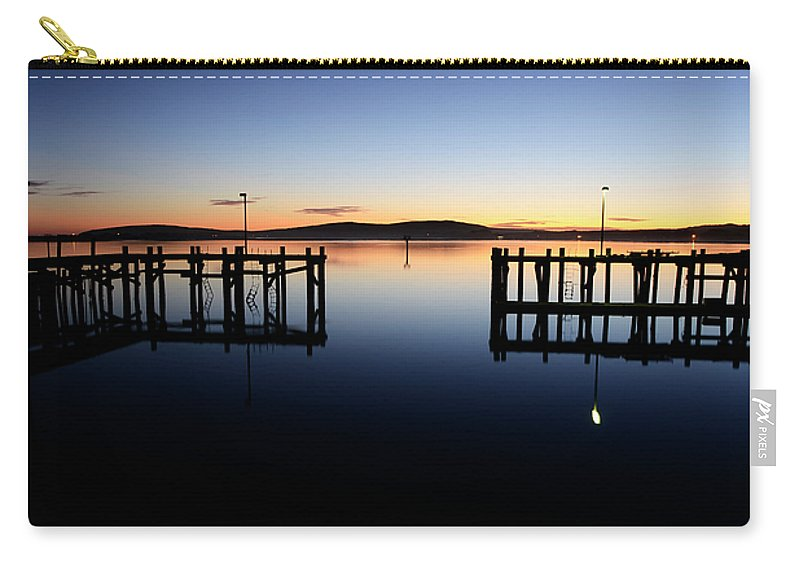 California Carry-all Pouch featuring the photograph Magic At Bodega Bay California by Bob Christopher