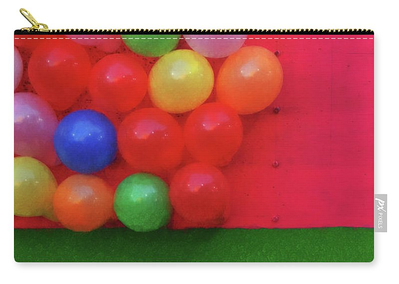 Magic Bubbles Carry-all Pouch featuring the photograph Magic Bubbles by Skip Hunt