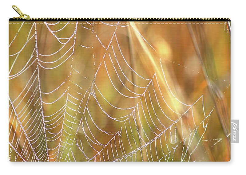Marsh Carry-all Pouch featuring the photograph Magic In The Marsh by Carol Groenen