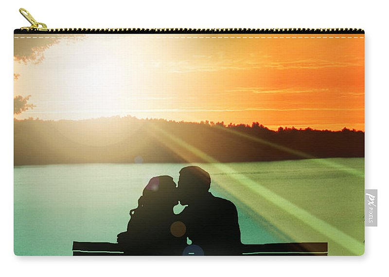 Photography Carry-all Pouch featuring the photograph Magic Moments by Ally White