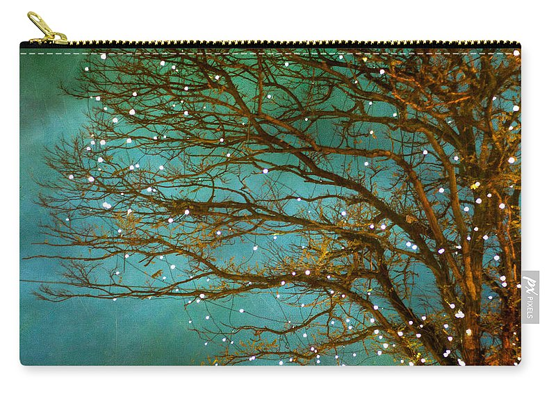 Woodland Carry-all Pouch featuring the photograph Magical by Violet Gray