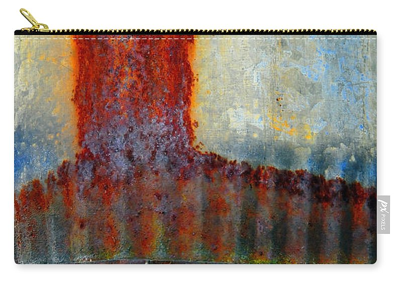 Skip Hunt Carry-all Pouch featuring the photograph Magma by Skip Hunt