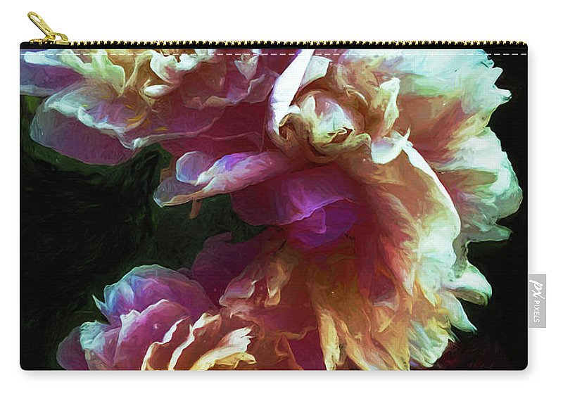 Flower Carry-all Pouch featuring the photograph Magnificence by Jo-Anne Gazo-McKim