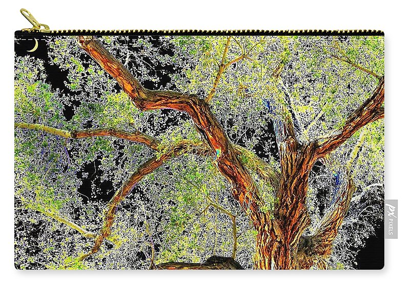 Tree Carry-all Pouch featuring the photograph Magnificent Tree by Will Borden