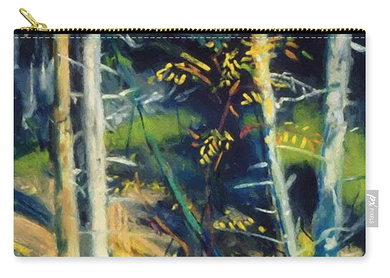 Maine Carry-all Pouch featuring the painting Maine Landscape 1919 by Henri Robert