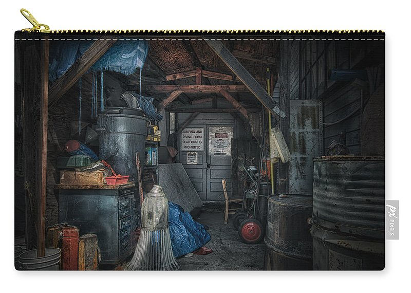 Airplanes Carry-all Pouch featuring the photograph Maintenance by Laura Macky
