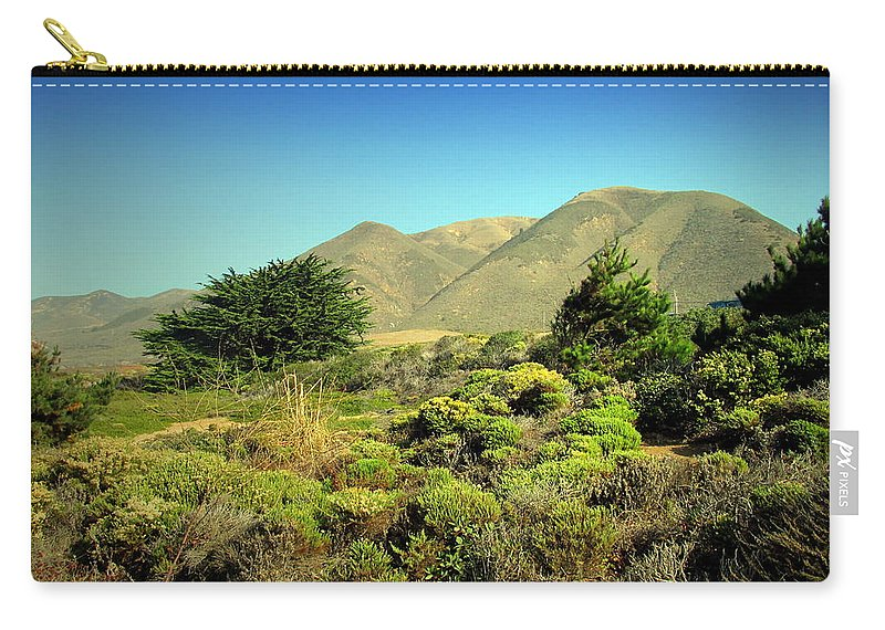 Hills Carry-all Pouch featuring the photograph Majestic Slopes by Joyce Dickens