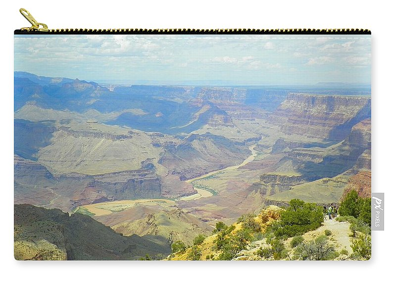 Grand Canyon Carry-all Pouch featuring the photograph Majestic View by Loring Laven