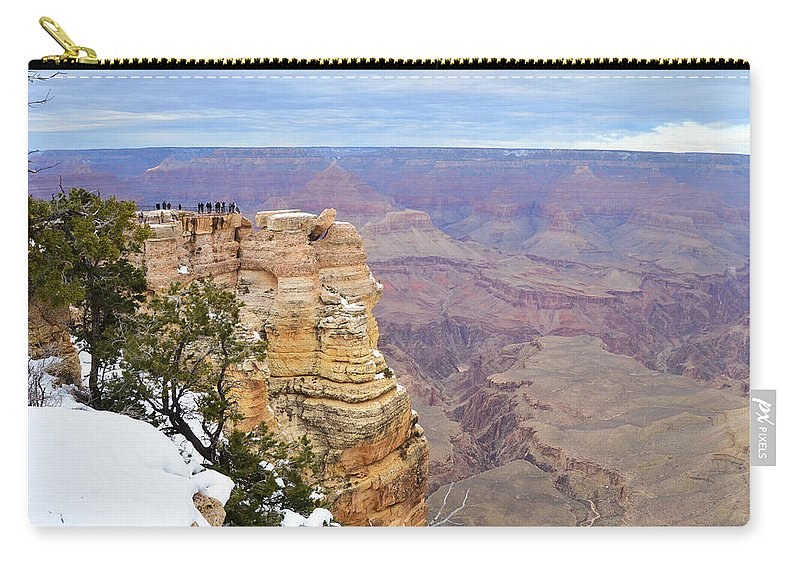 View Carry-all Pouch featuring the photograph Majestic View by Mauverneen Blevins
