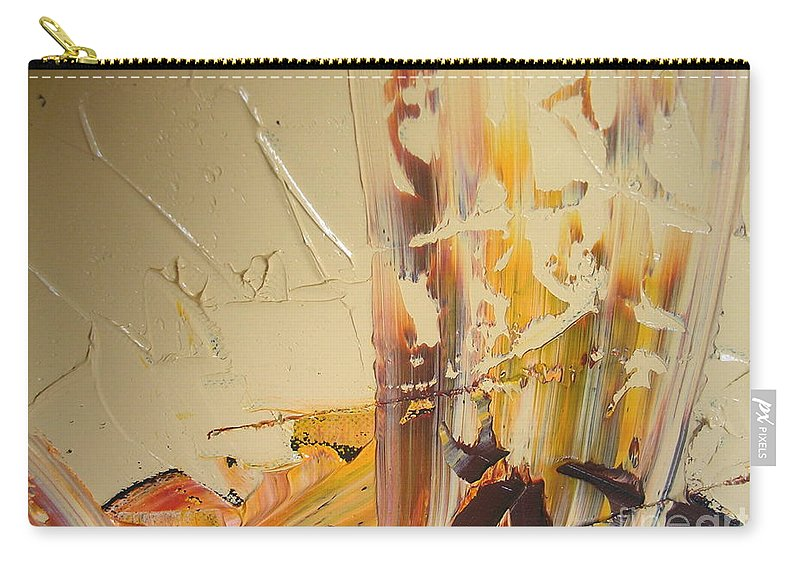 Make Me Believe Carry-all Pouch featuring the painting Make Me Believe by Dawn Hough Sebaugh
