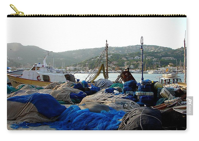 Mallorca Carry-all Pouch featuring the photograph Mallorca 2 by Ana Maria Edulescu