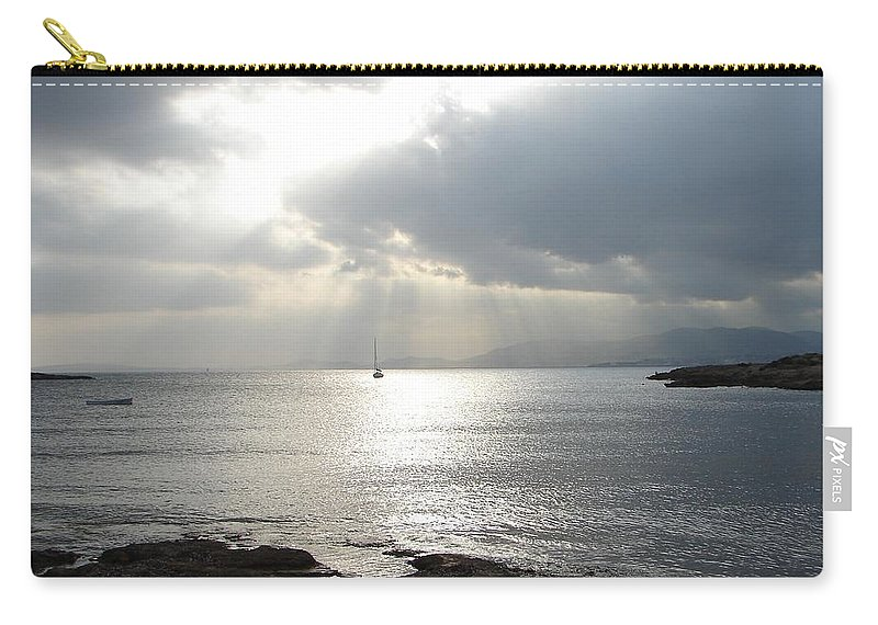 Mallorca Carry-all Pouch featuring the photograph Mallorca by Ana Maria Edulescu