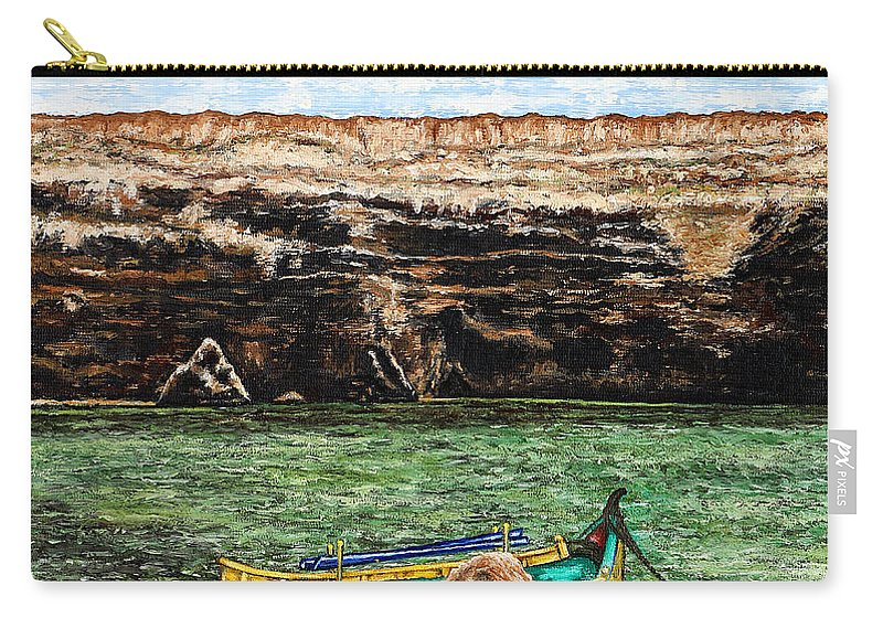 Malta Carry-all Pouch featuring the painting Malta by Patrick J Murphy