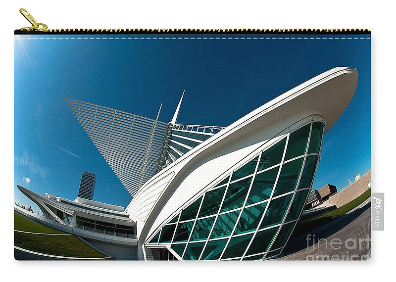 Milwaukee Carry-all Pouch featuring the photograph Mam Angle by Steven Dunn