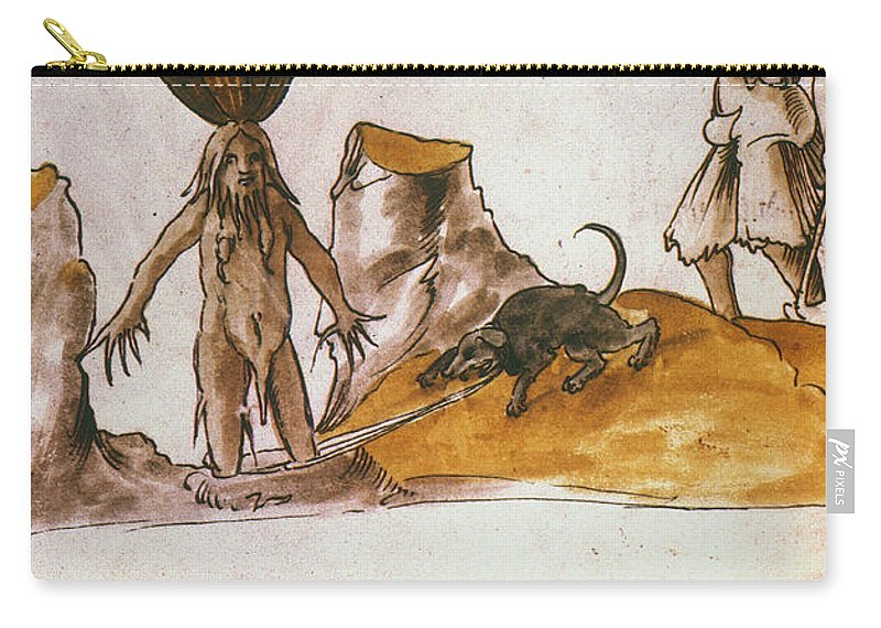 1500 Carry-all Pouch featuring the photograph Mandrake, C1500 by Granger