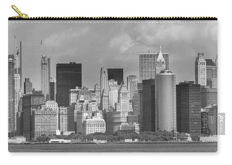 America Carry-all Pouch featuring the photograph Manhattan New York by FL collection
