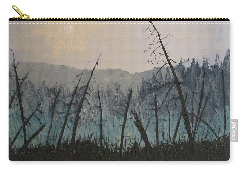 Northern Ontario Carry-all Pouch featuring the painting Manitoulin Beaver Meadow by Ian MacDonald