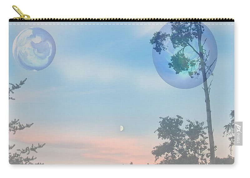 Moon Carry-all Pouch featuring the photograph Many Moons by Andrea Lawrence