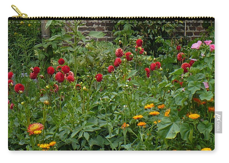 Thank You Card Carry-all Pouch featuring the greeting card Many Thanks Card by Carol Groenen