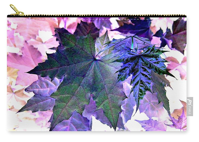 Dramatic Carry-all Pouch featuring the photograph Maple Magnetism by Will Borden
