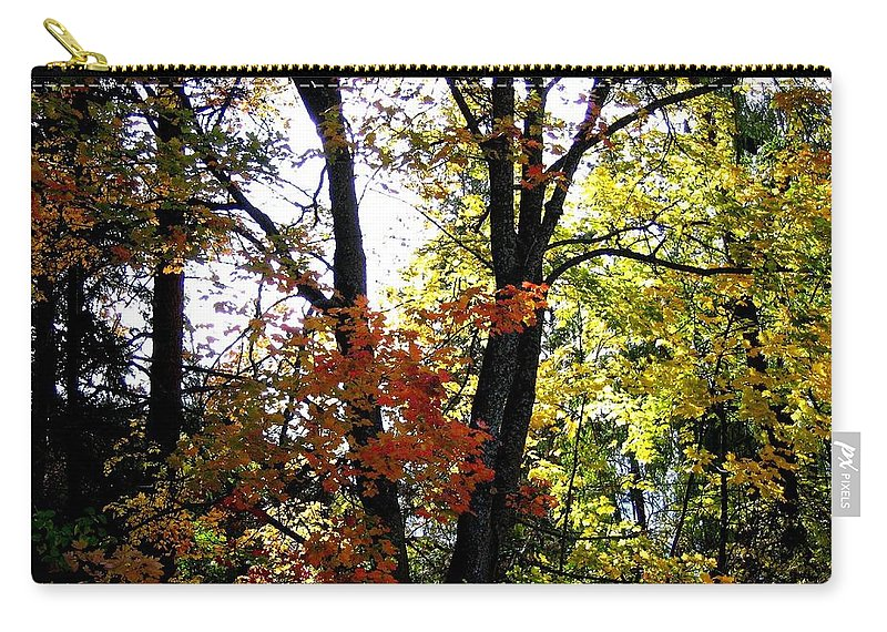 Autumn Carry-all Pouch featuring the photograph Maple Mania 16 by Will Borden