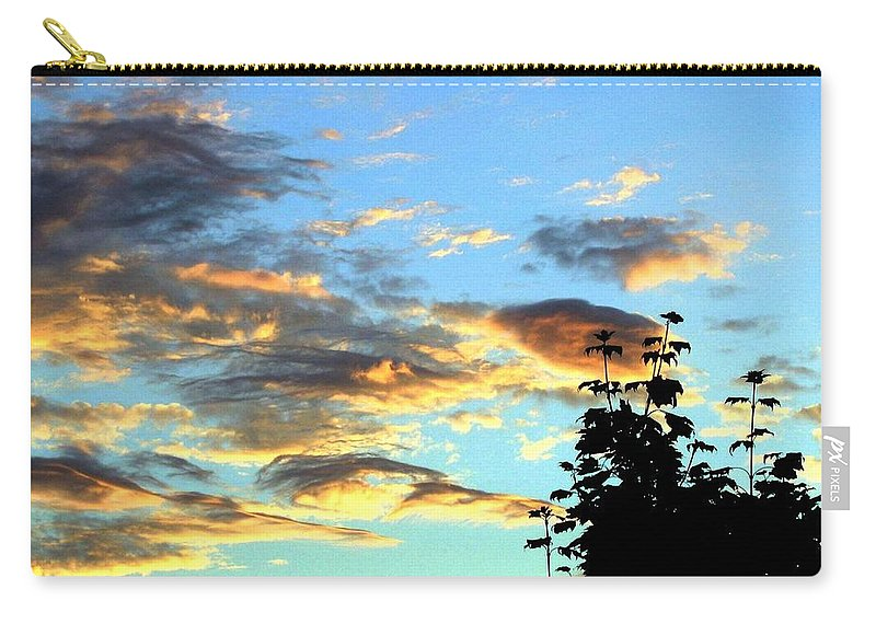 Maple Tree Carry-all Pouch featuring the photograph Maple Silhouette by Will Borden