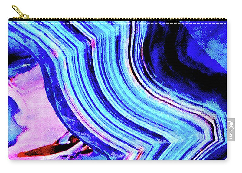 Marble Carry-all Pouch featuring the photograph Marble 201 by Ken Lerner