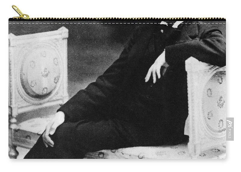 History Carry-all Pouch featuring the photograph Marcel Proust, French Author by Omikron