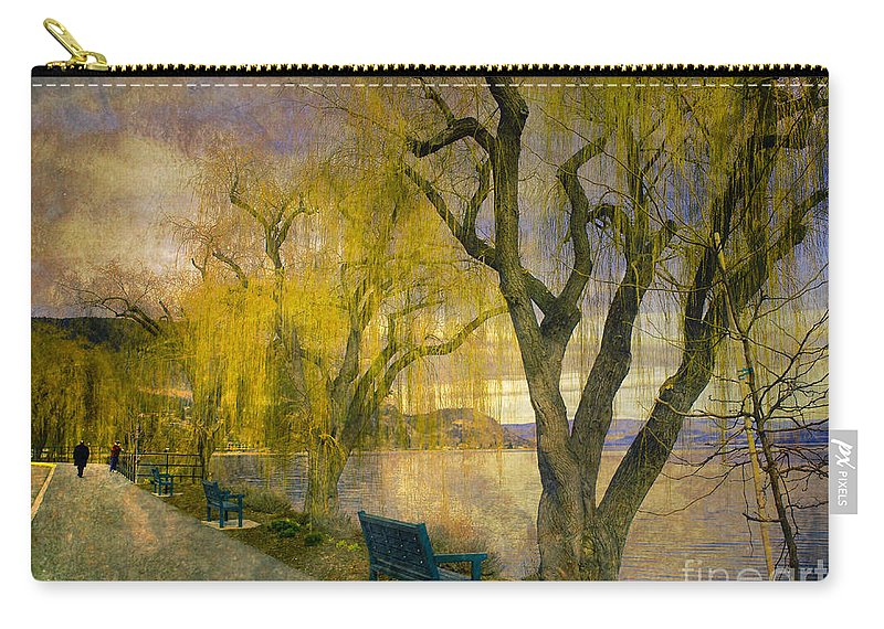 Lake Carry-all Pouch featuring the photograph March 14 2010 by Tara Turner