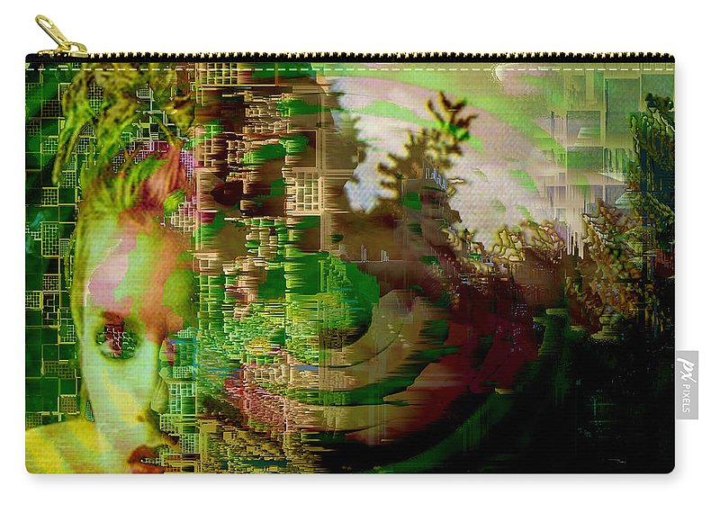 March Of Time Carry-all Pouch featuring the photograph March Of Time by Seth Weaver