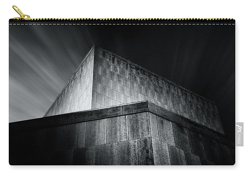 Architecture Carry-all Pouch featuring the photograph Marcus Center by Scott Norris