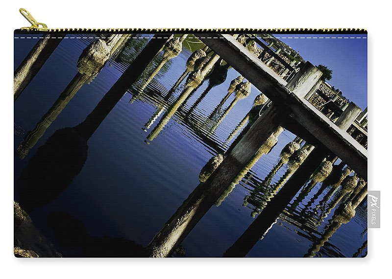 Marina Carry-all Pouch featuring the photograph Marina by Kelly Jade King