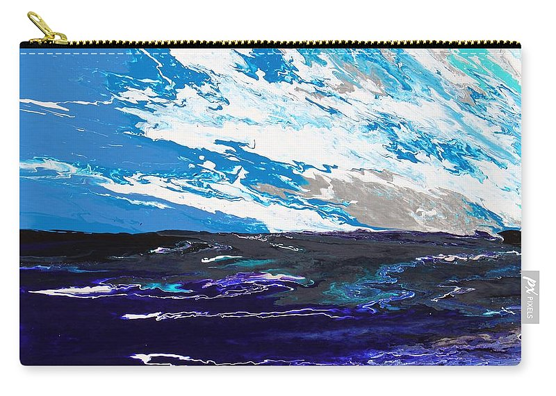 Fusionart Carry-all Pouch featuring the painting Mariner by Ralph White
