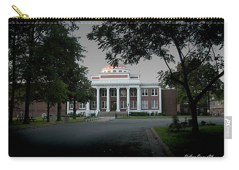 Marion Ar Carry-all Pouch featuring the photograph Marion Couthouse by D'Arcy Evans