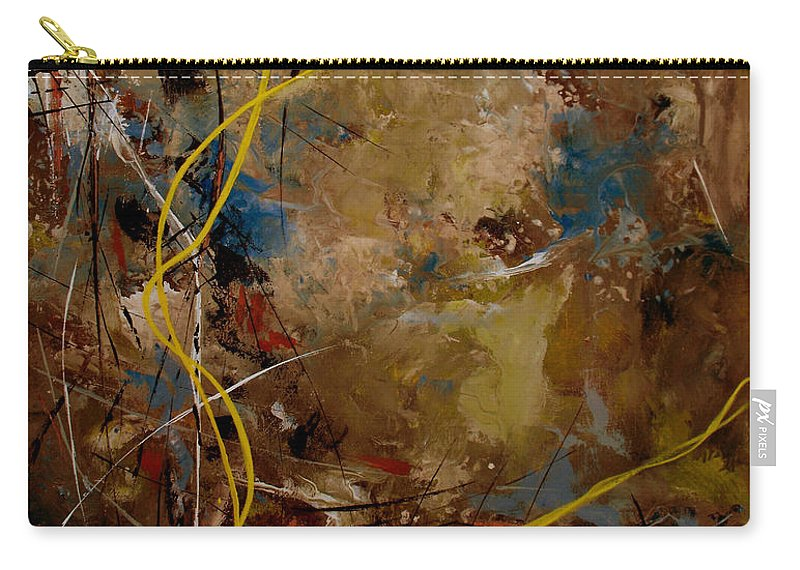 ruth Palmer Carry-all Pouch featuring the painting Marked In Him by Ruth Palmer