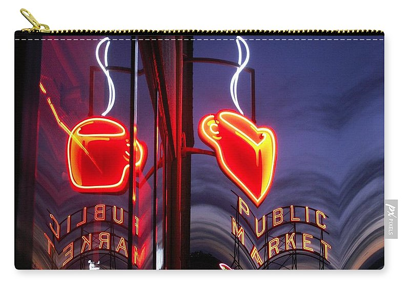 Seattle Carry-all Pouch featuring the photograph Market Cup 2 by Tim Allen