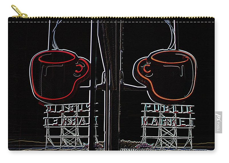 Seattle Carry-all Pouch featuring the photograph Market Cup 3 by Tim Allen