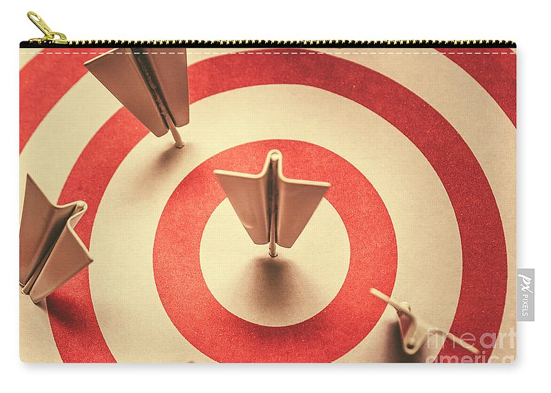 Target Carry-all Pouch featuring the photograph Marketing Your Target Market by Jorgo Photography - Wall Art Gallery