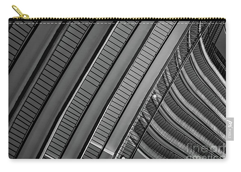 Marriott Marquis Carry-all Pouch featuring the photograph Marriott Marquis by Doug Sturgess