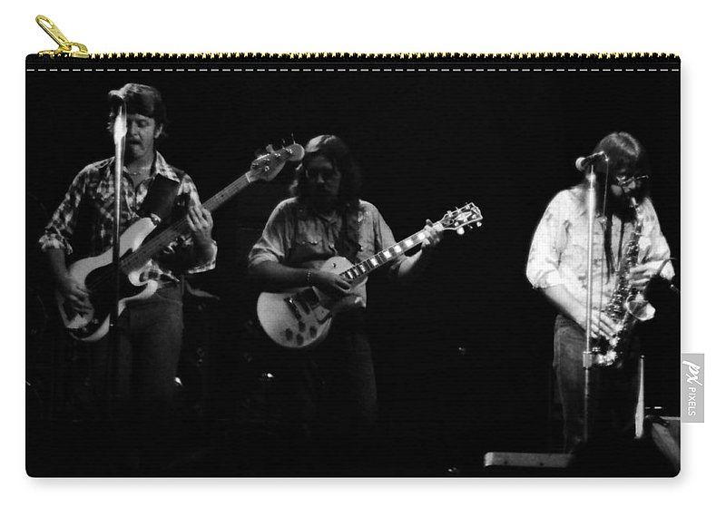 Marshall Tucker Carry-all Pouch featuring the photograph Marshall Tucker Winterland 1975 #33 Crop 2 by Ben Upham