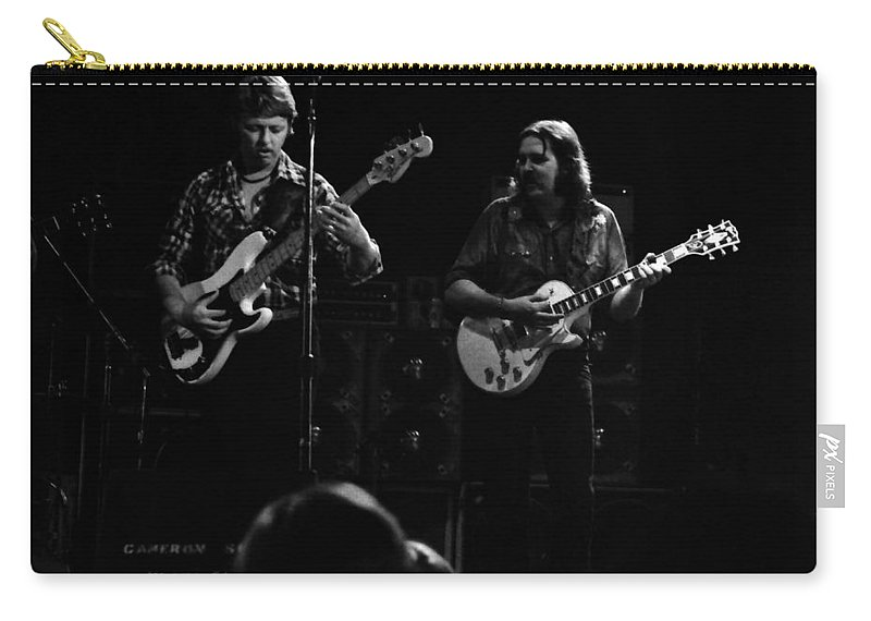Marshall Tucker Carry-all Pouch featuring the photograph Marshall Tucker Winterland 1975 #36 by Ben Upham