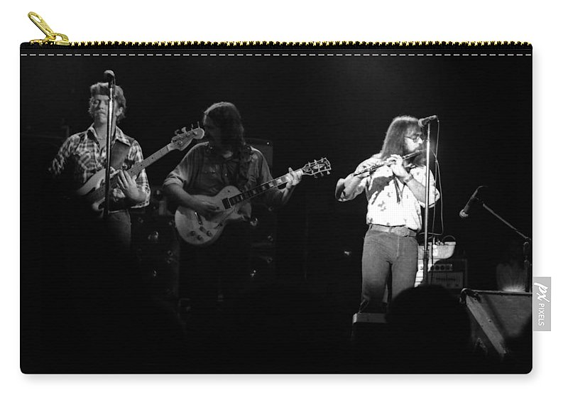 Marshall Tucker Carry-all Pouch featuring the photograph Marshall Tucker Winterland 1975 #37 by Ben Upham