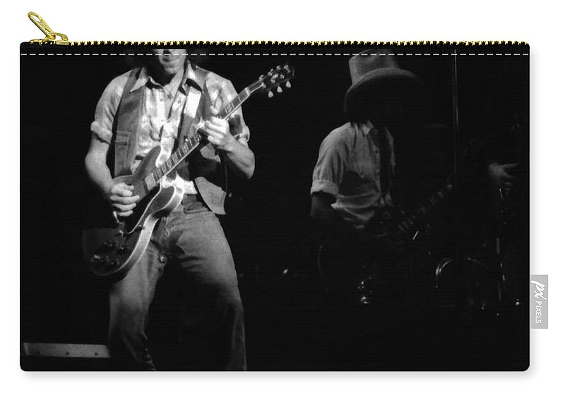 Elvin Bishop Carry-all Pouch featuring the photograph Marshall Tucker Winterland 1975 #38 With Elvin by Ben Upham