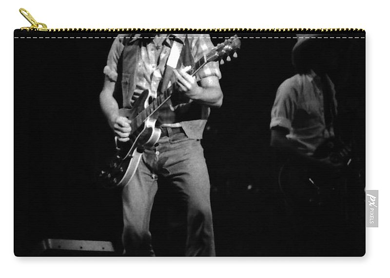 Elvin Bishop Carry-all Pouch featuring the photograph Marshall Tucker Winterland 1975 #39 With Elvin by Ben Upham