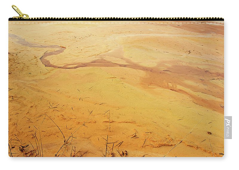 Landscape Carry-all Pouch featuring the photograph Martian River by Katilda