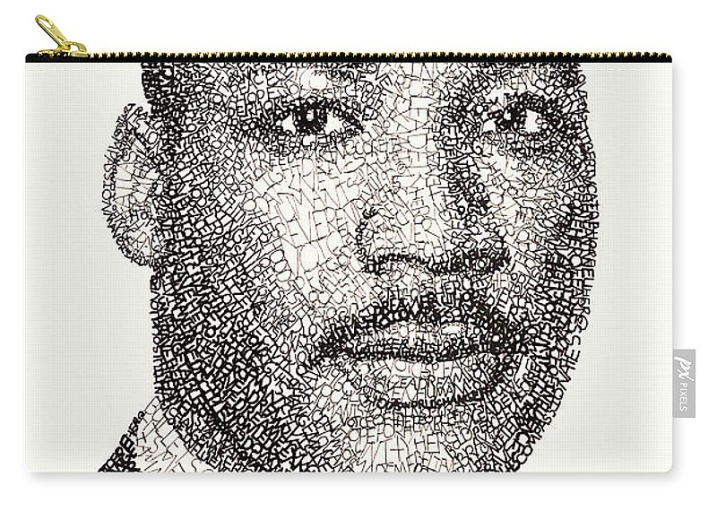 Martin Luther King Jr Carry All Pouch For Sale By Michael Volpicelli