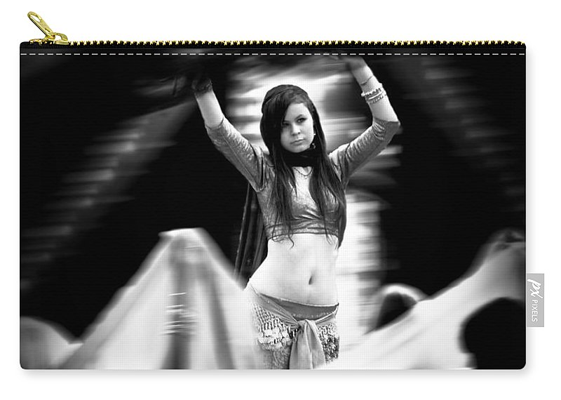 Belly Dance Carry-all Pouch featuring the photograph Mata Hari by Bob Orsillo