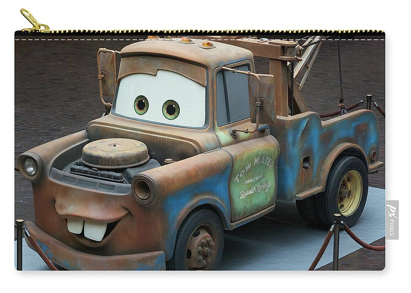 Mater Carry-all Pouch featuring the photograph Mater MP by Thomas Woolworth