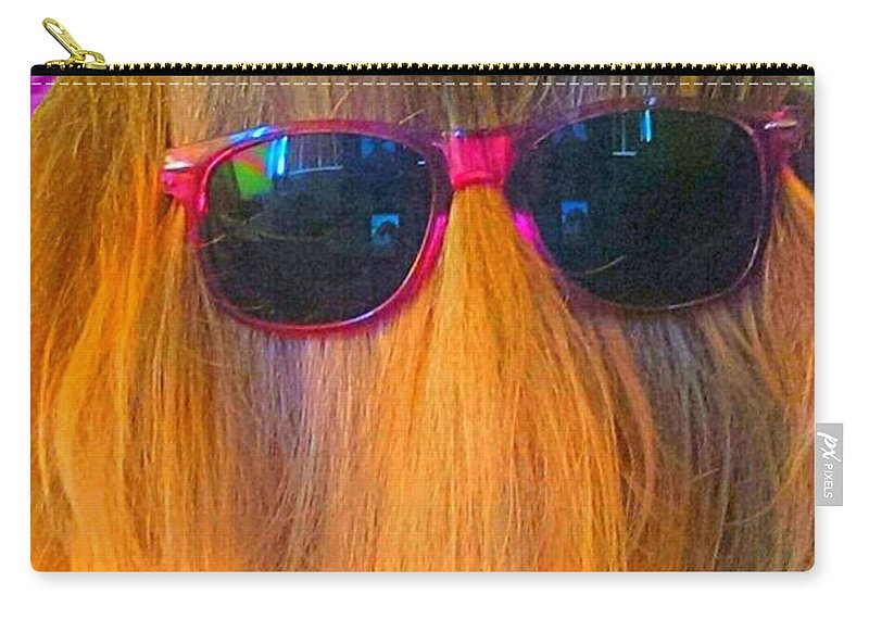 Carry-all Pouch featuring the photograph Master Of Disguise by Barbra Kotovich