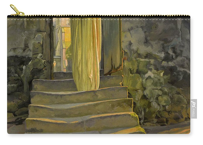 Carlos Schwabe Carry-all Pouch featuring the painting Maternity by Carlos Schwabe